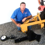 Everything Attachments Compact or Subcompact Tractor Plow